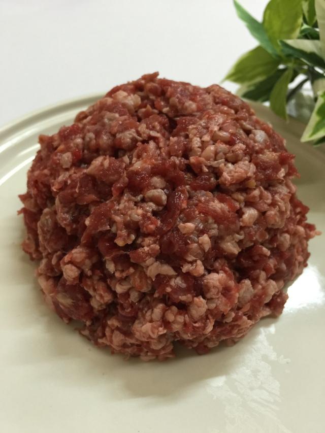 ZUTTO DOG  馬肉ミンチ ベーシック  お徳用3kg|犬用 馬肉