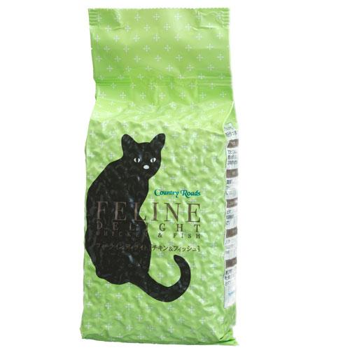 カントリーロード フィーラインディライト[チキン&フィッシュ] 幼猫用・成猫用・シニア猫用 1袋680g入|AAFCO栄養基準適用|無添加キャットフード